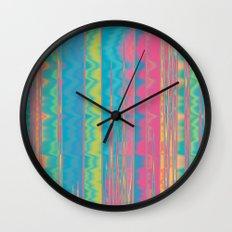 Crazy Colors.  Wall Clock