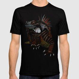 iguana ecru T-shirt