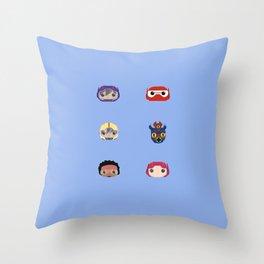 Big Hero 6 Throw Pillow