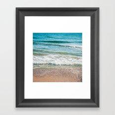 Sea of my dream Framed Art Print