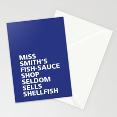 Miss Smith's Shop - Tongue Twisters Stationery Cards
