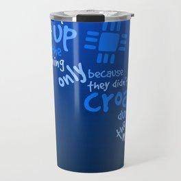 Croak-Blue Travel Mug