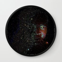 a moment in space Wall Clock