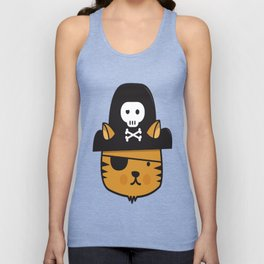 Pirate Cat - Jumpy Icon Series Unisex Tank Top