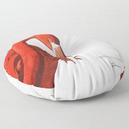 Caribbean Flamingo - DEAU Floor Pillow