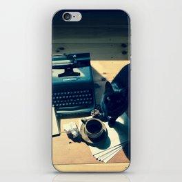 Literary Cat iPhone Skin