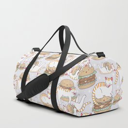 Cat burgers Duffle Bag