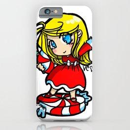 Candy Cane Cutie iPhone Case