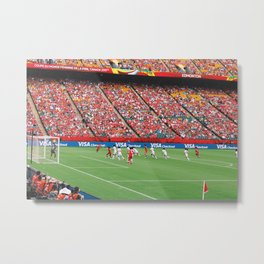 FIFA Women's World Cup Canada 2015 Metal Print