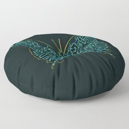 Mechanical Butterfly Floor Pillow