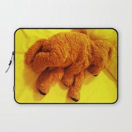 Love is... Teddy dog Laptop Sleeve