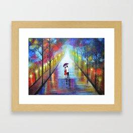 Romantic Interlude Framed Art Print