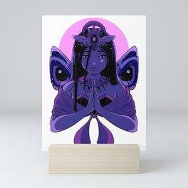 Sad Moth Priestess Mini Art Print