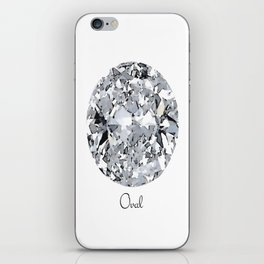 Oval iPhone Skin