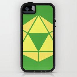 Zelda - Triforce D20 iPhone Case