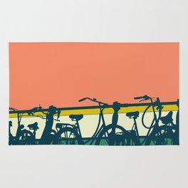 On your bike (Grapefruit) Rug