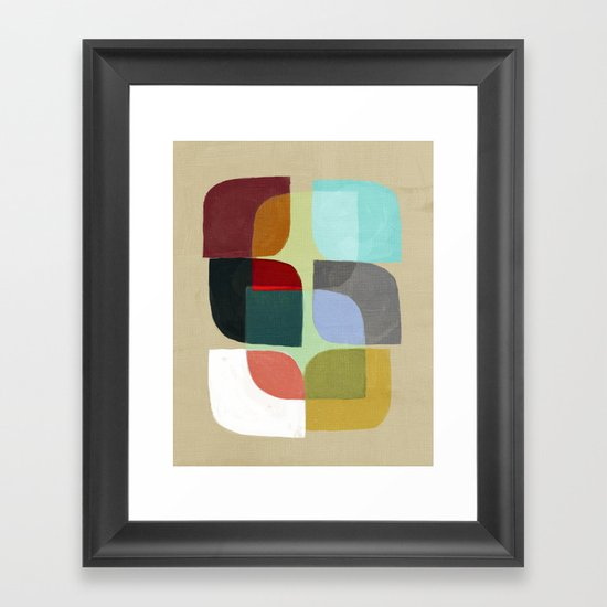 Color Overlay Framed Art Print