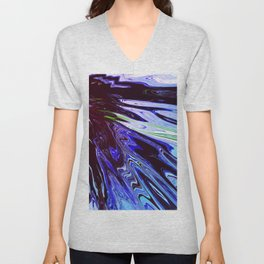 Abstract Composition 757 Unisex V-Neck