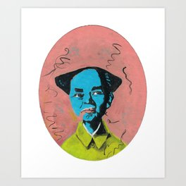 Mao Art Print