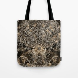Tracery Mantis Tote Bag