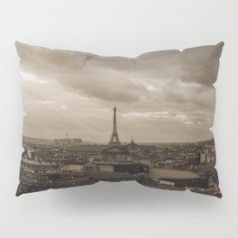 Rooftop view of Paris Pillow Sham