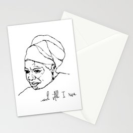 and still I rise Stationery Cards