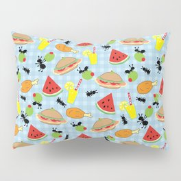 Funny Picnic Food Pillow Sham