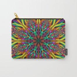 Crazy colors 3D mandala Carry-All Pouch