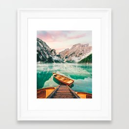 While We Are Young Framed Art Print