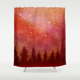 Fire Heaven Shower Curtain