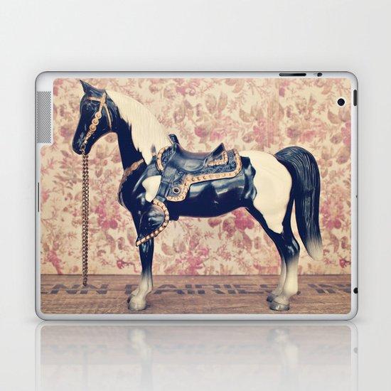 Vintage Horse  Laptop & iPad Skin
