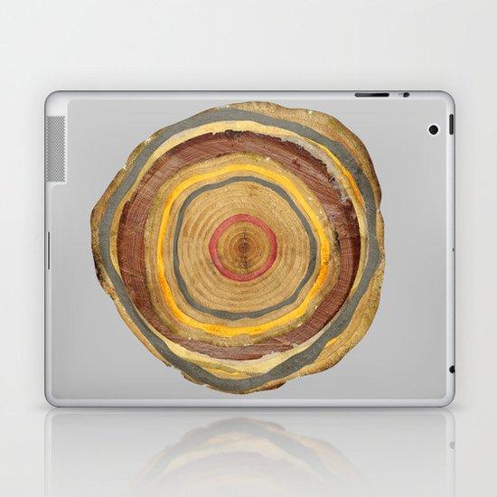 Tree Rings Laptop & iPad Skin