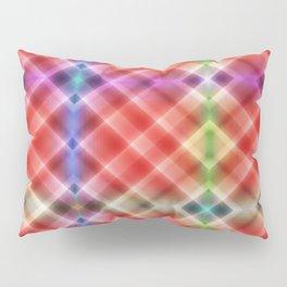Pattern squares orange Pillow Sham