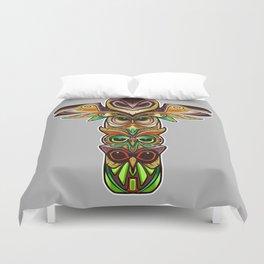 Owl totem Duvet Cover