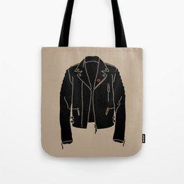 Leather Jacket - HANDSOME DEVIL'S CLUB (3/3) Tote Bag