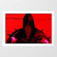 gladiator Art Prints featuring Gladiator by Time After Time