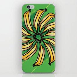 Banana Circle  iPhone Skin