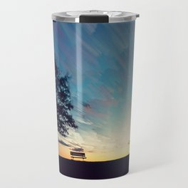 Painterly Skies Travel Mug