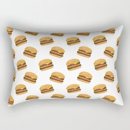 Burgers Rectangular Pillow
