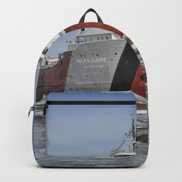 Philip R Clarke Great Lakes Freighter Backpack