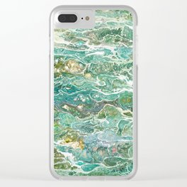 Skinny Dip Clear iPhone Case