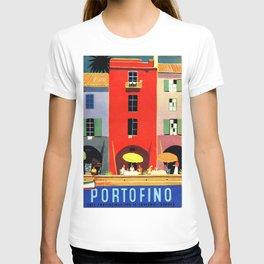 Vintage poster - Portofino T-shirt