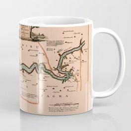 Map Of Gambia 1745 Coffee Mug