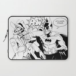 Bat Man VS The Joker Laptop Sleeve