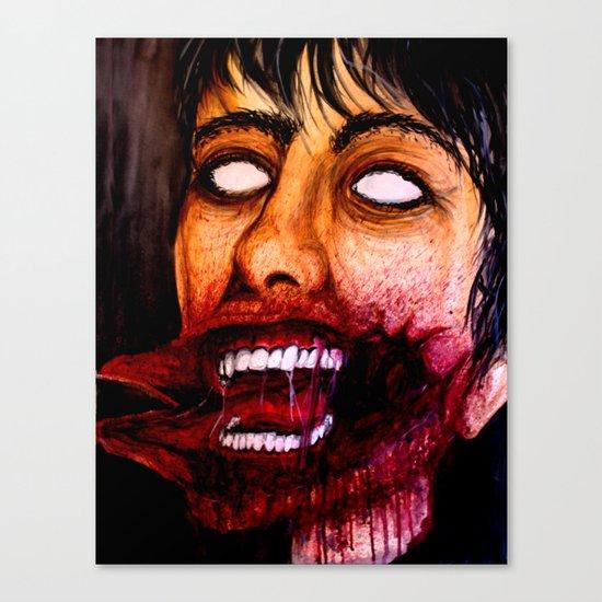Just a scratch Canvas Print