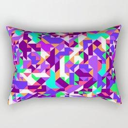Off-Beat Geometric Shapes V.04 Rectangular Pillow