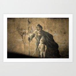 Saint James Way - Camino de Santiago Art Print