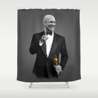actor Shower Curtains featuring Best Actor by Daniac Design