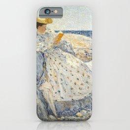 Childe Hassam - Summer Sunlight iPhone Case