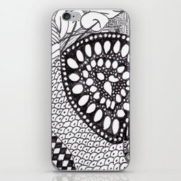 Zen Doodle Graphics zz04 iPhone Skin